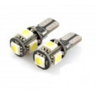 Лампа T-10 5 SMD(0530) CANBUS